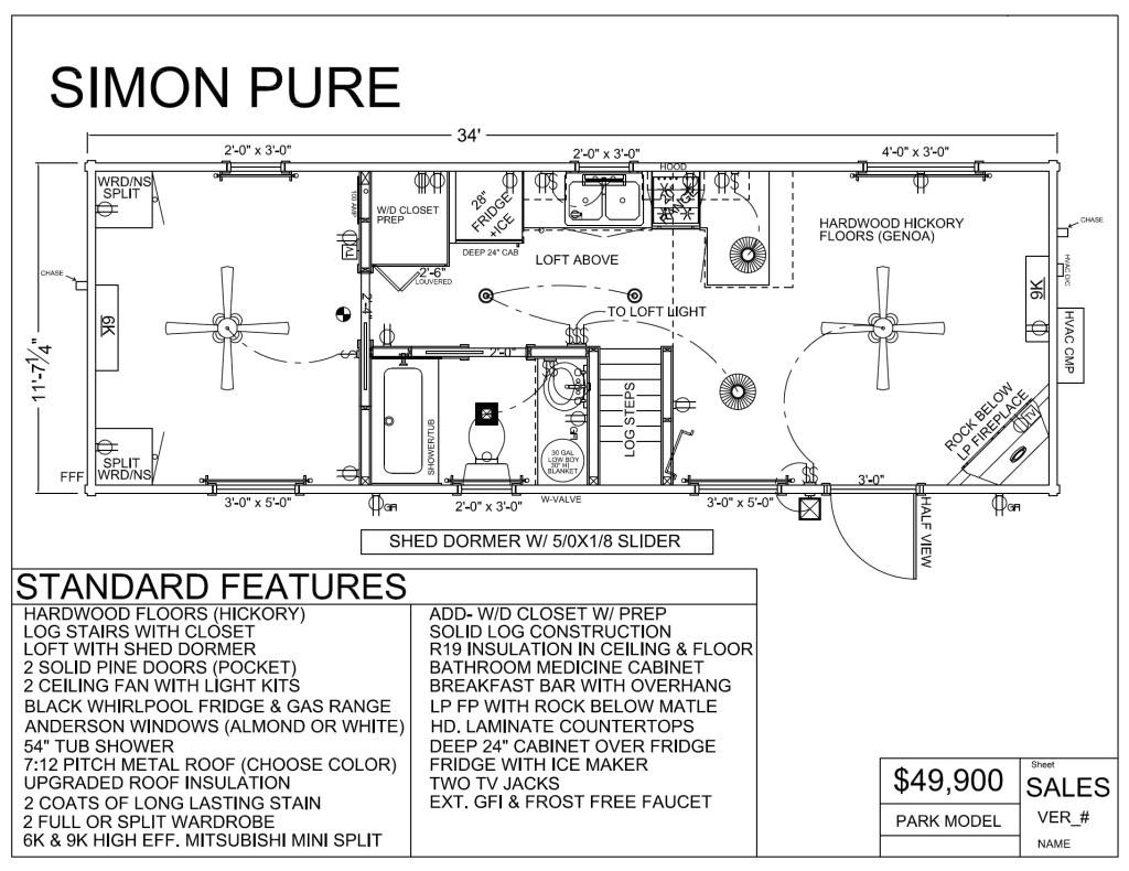 park model home plans