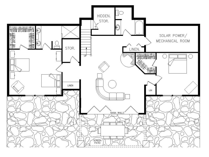 passive house plan details active solar zero energy home zeh