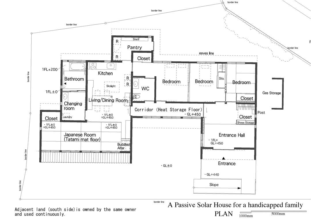 passive solar house handicapped openbuildings