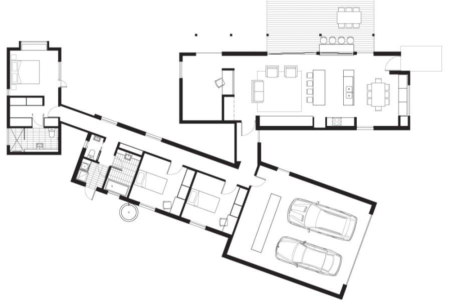 Passive solar Modular Home Plans Prefab Ulous Passive solar Home Proves A De Light to Live In