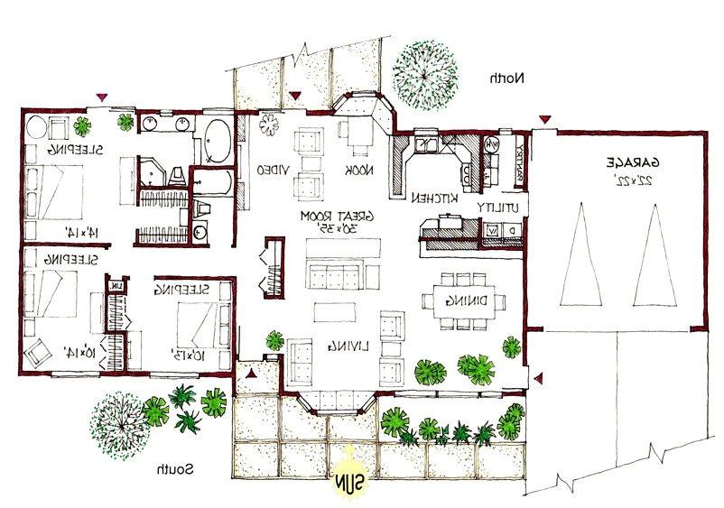 Passive solar Ranch House Plans Luxury Passive solar Ranch House Plans New Home Plans Design