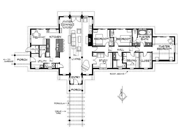 western ranch house plans lovely more passive solar hooray this one has enough bedrooms david