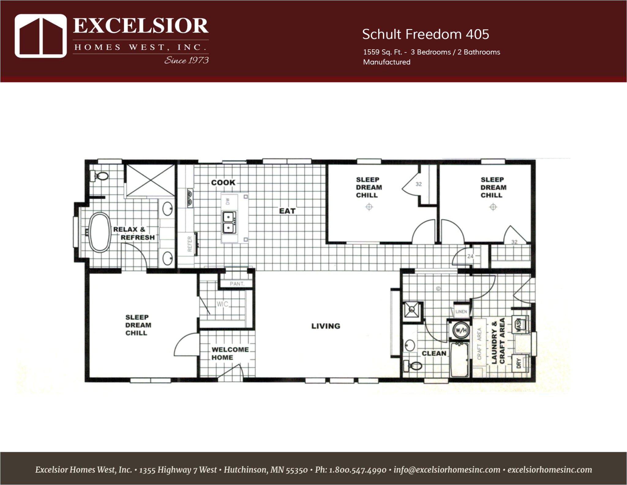 2001 patriot mobile home floor plans