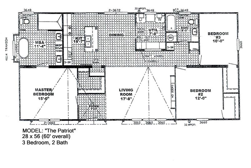 patriot mobile home floor plans elegant the patriot meadowshomes 2