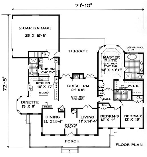 Perfect Home Plans Perfect Home 8366 3 Bedrooms and 3 5 Baths the House