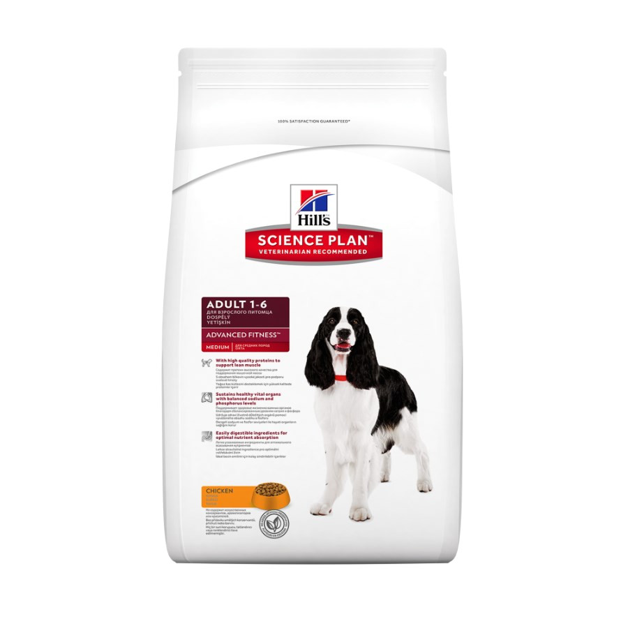 hills science plan advanced fitness adult dog food with chicken 27088p 1
