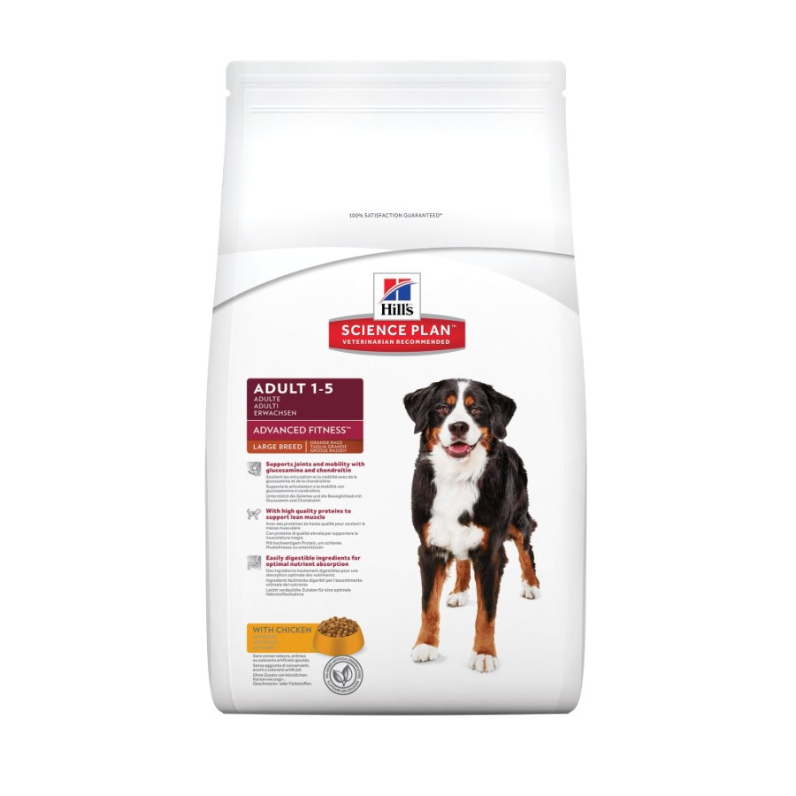 hills science plan advanced fitness large breed adult dog food with chicken 27089p 1