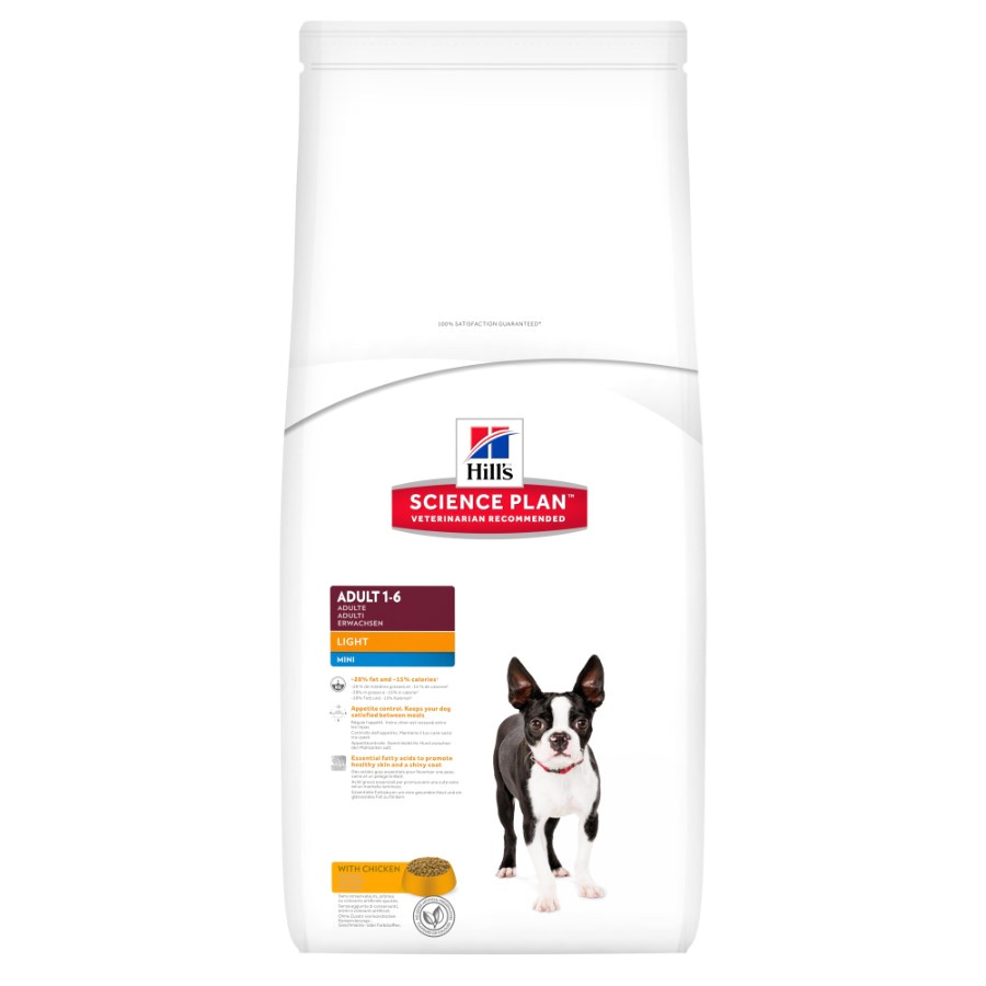 Pets at Home Science Plan Hill 39 S Science Plan Canine Adult Mini Light Chicken 2 5kg