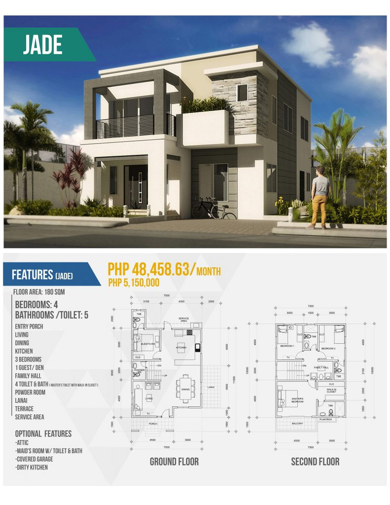 modern house designs and floor plans philippines