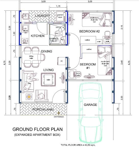 tiny apartment design plans