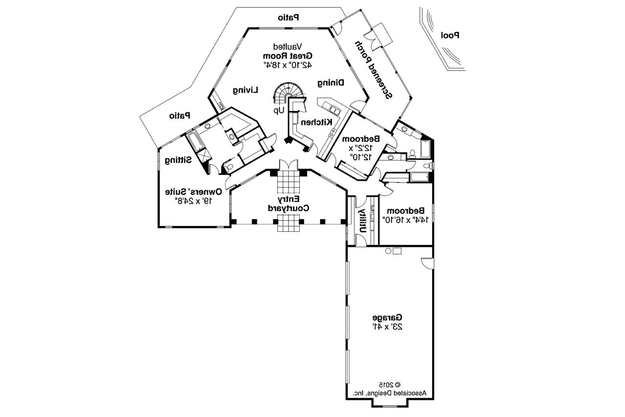 home plans for pie shaped lots