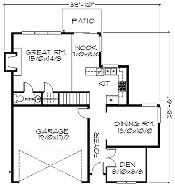 house floor plans for a pie shaped building lot