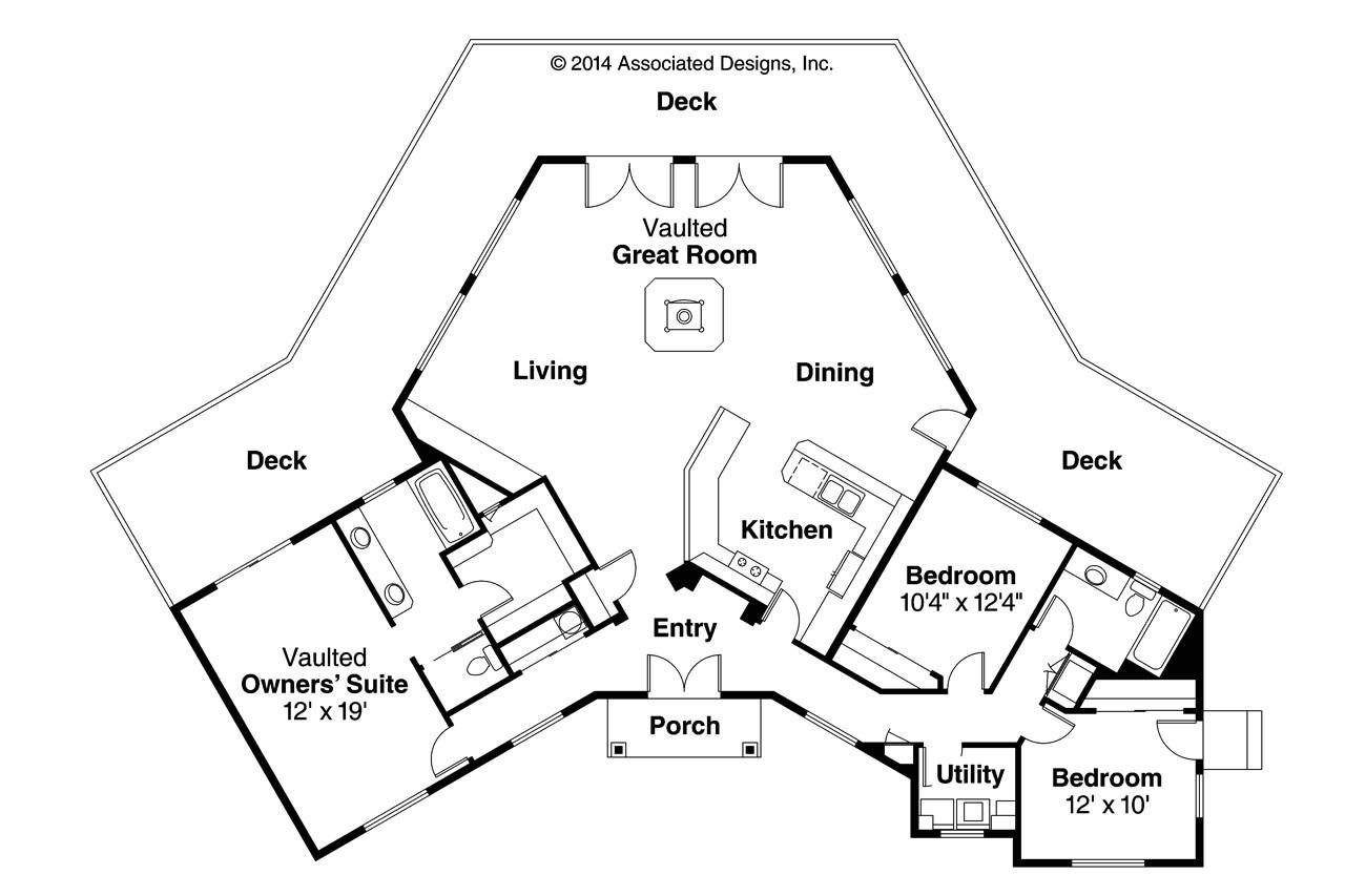 Pie Shaped Lot House Plans Review L Shaped House Plans Modern Modern House Plan