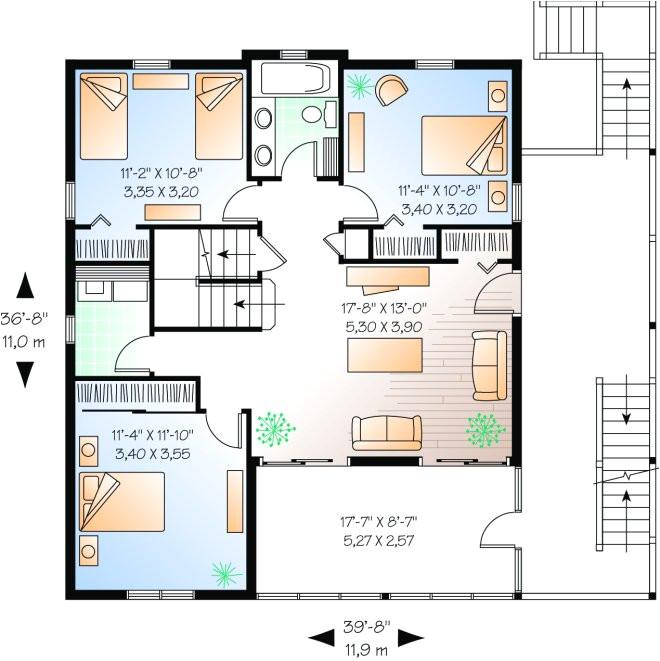 pier construction house plans