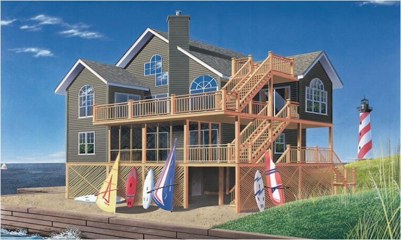 53f5db409d6eeea6 beach house plans for homes on pilings plans on piers beach house