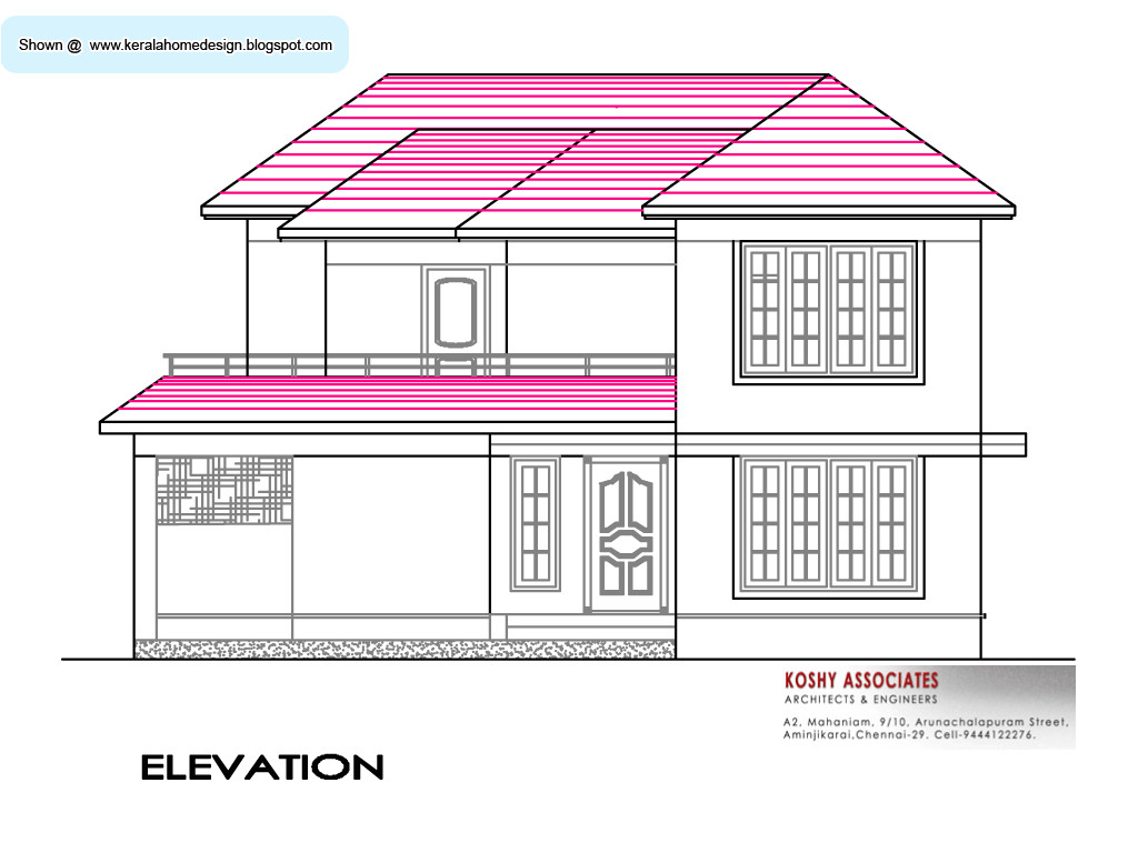 south indian house plan 2800 sq ft