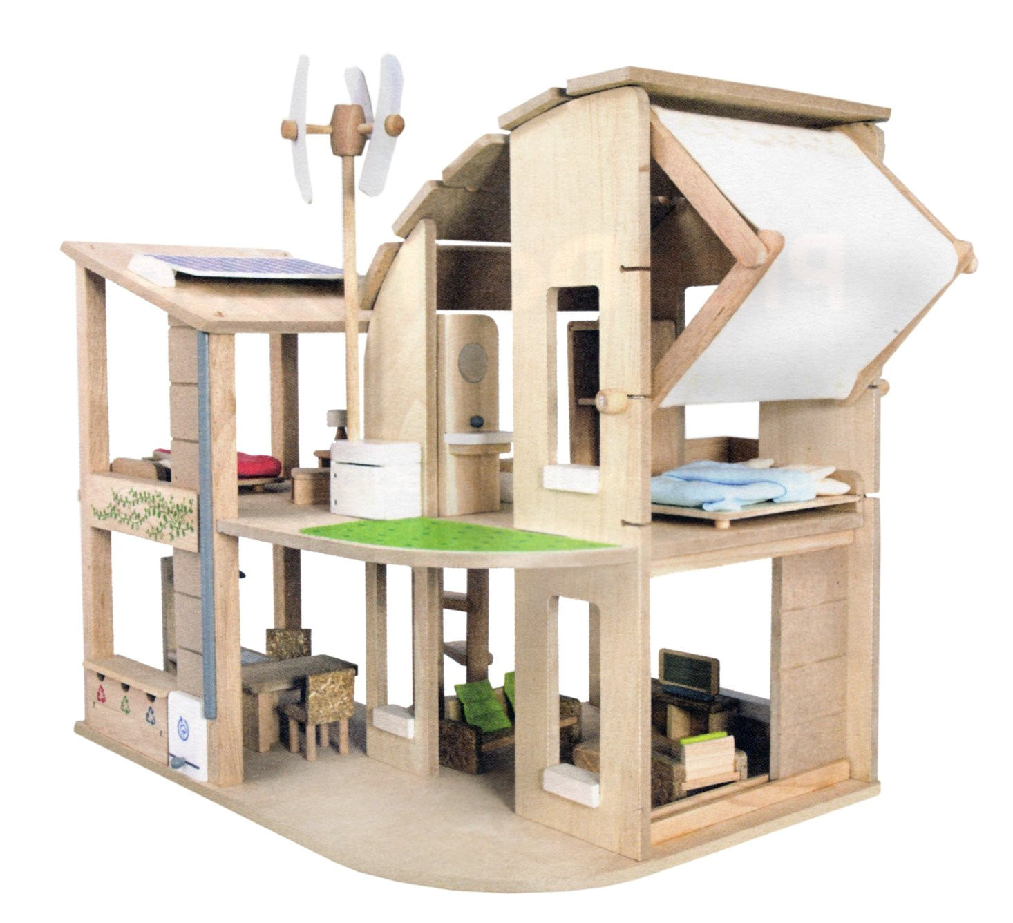 gender neutral alternatives to a pink plastic dollhouse