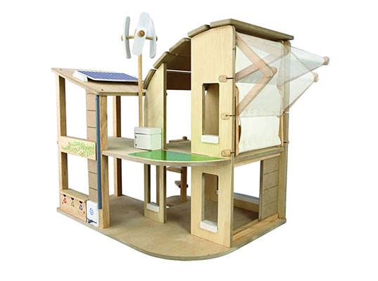 new plan toys green dollhouse