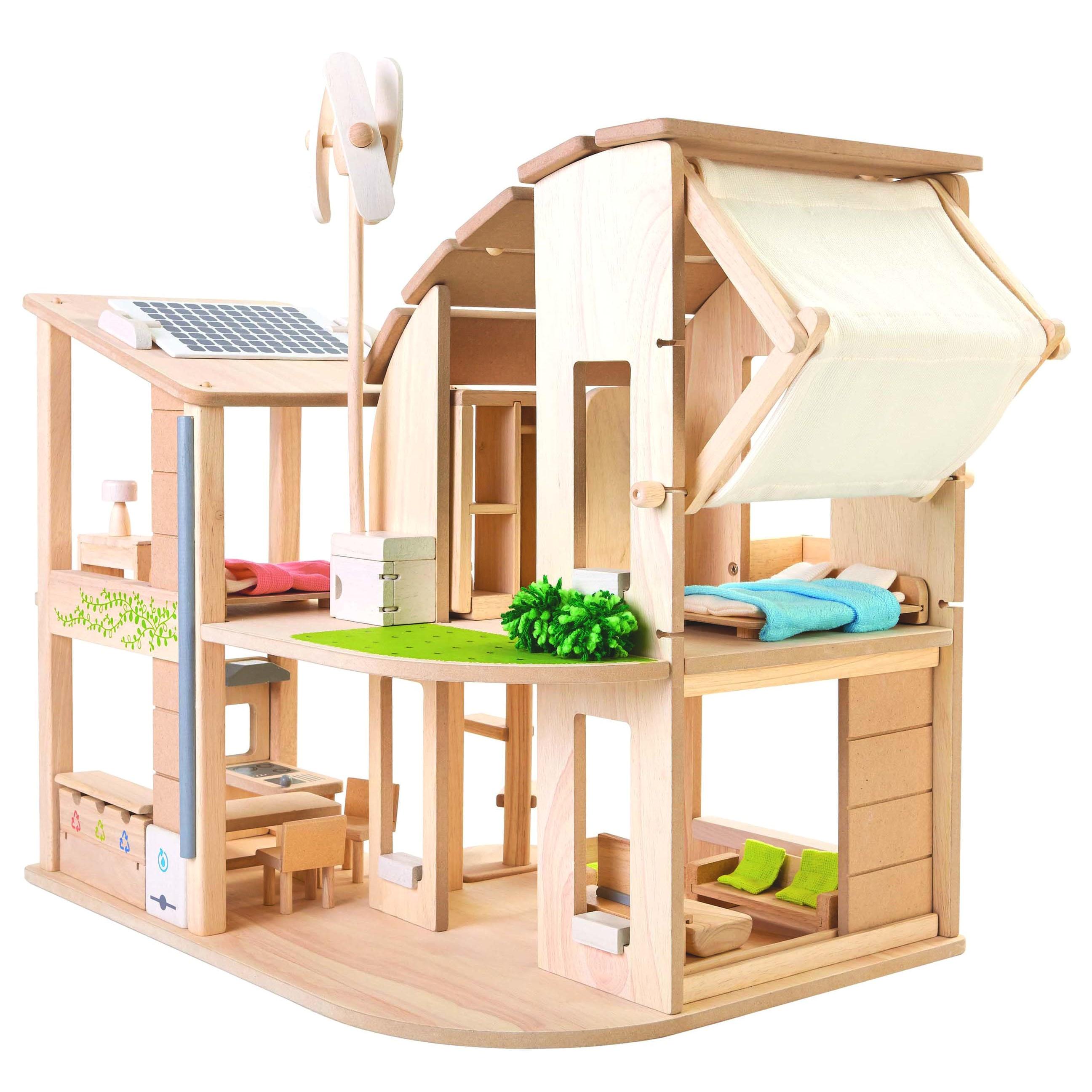 Plan toys Eco House Plan toys Green Dolls 39 House Furniture