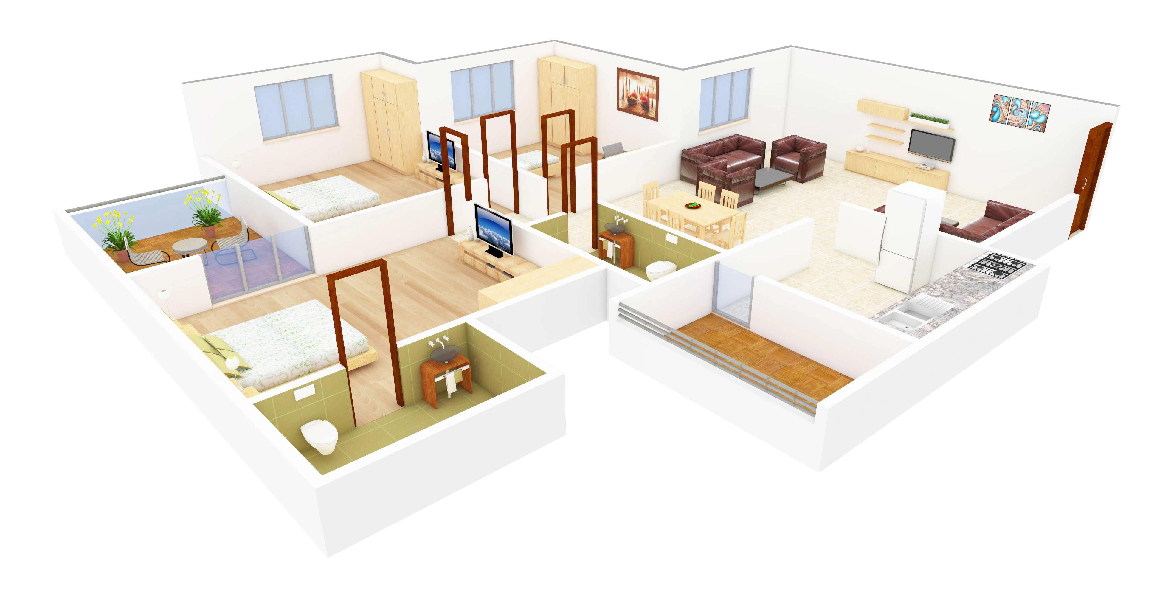 3d floor plans now foresee your dream home