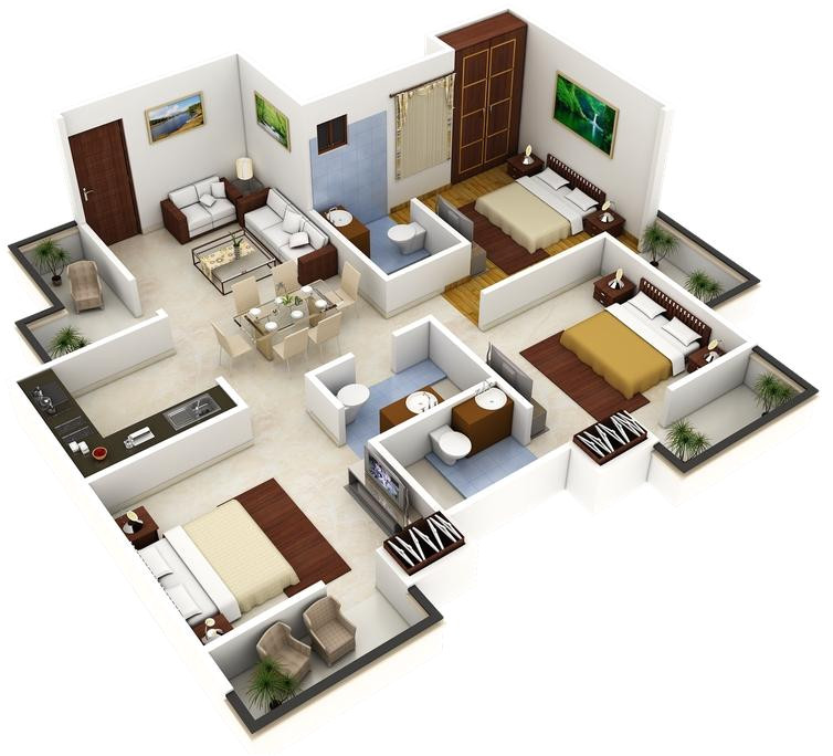 best 3d home plan