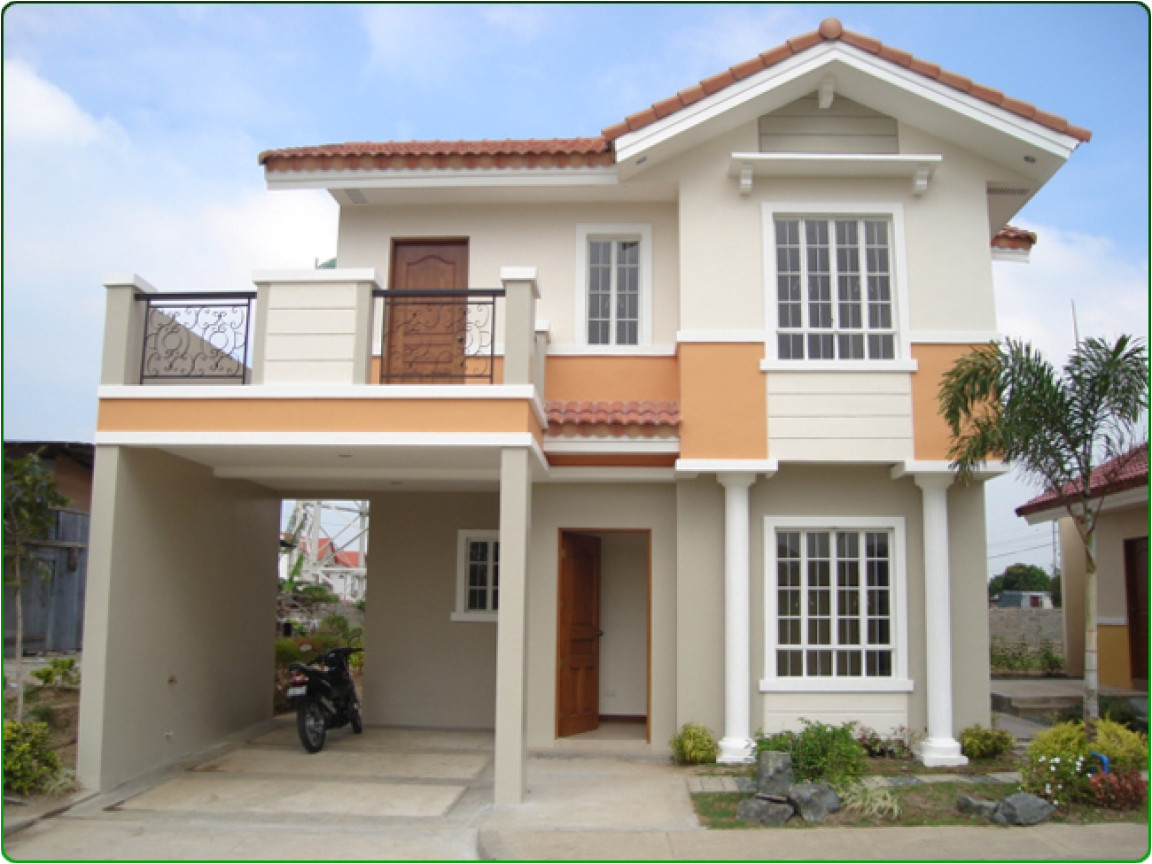 two storey house plans with balcony 2