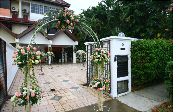 how to plan the home wedding