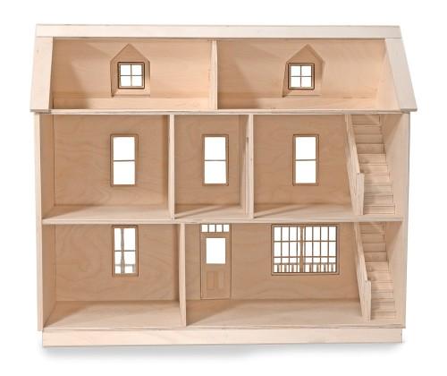 barbie wood dollhouse plans