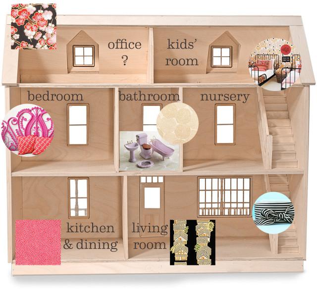 plan terrace dollhouse