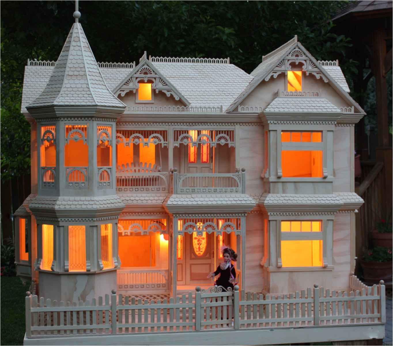 Plans for A Doll House Victorian Dollhouse Woodchuckcanuck Com