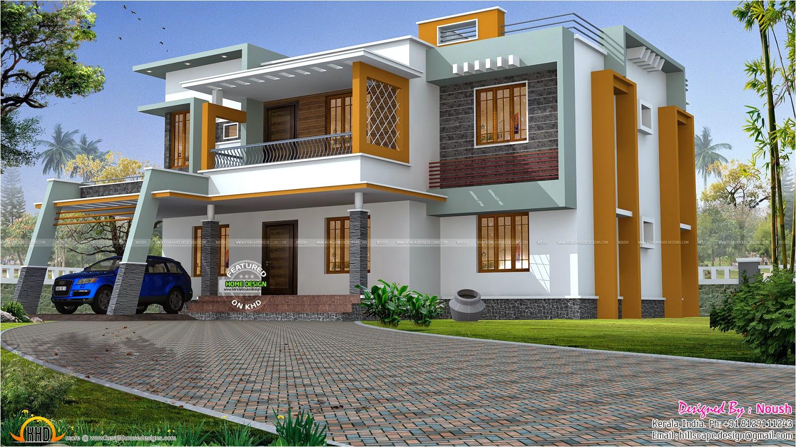 box style house