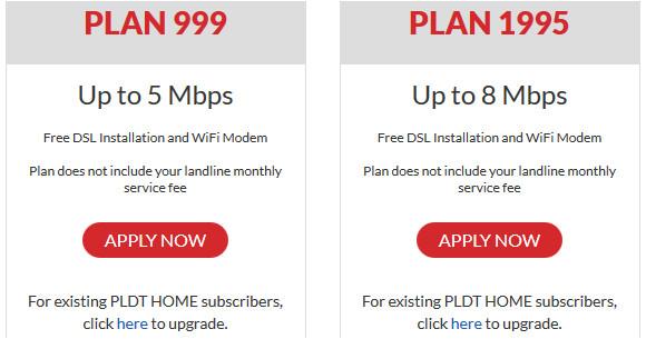 dsl plan 999 3mbps