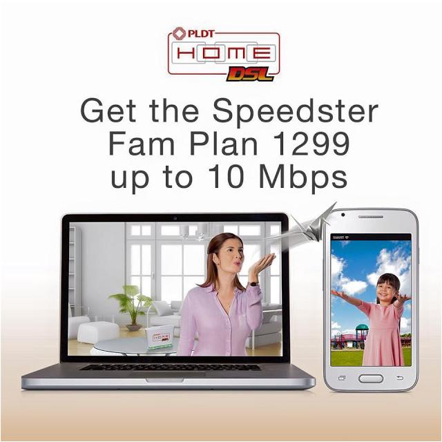 sharetheconnection pldt home dsl speedster fam plan