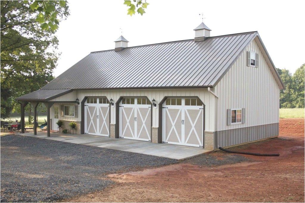 morton pole barn garages