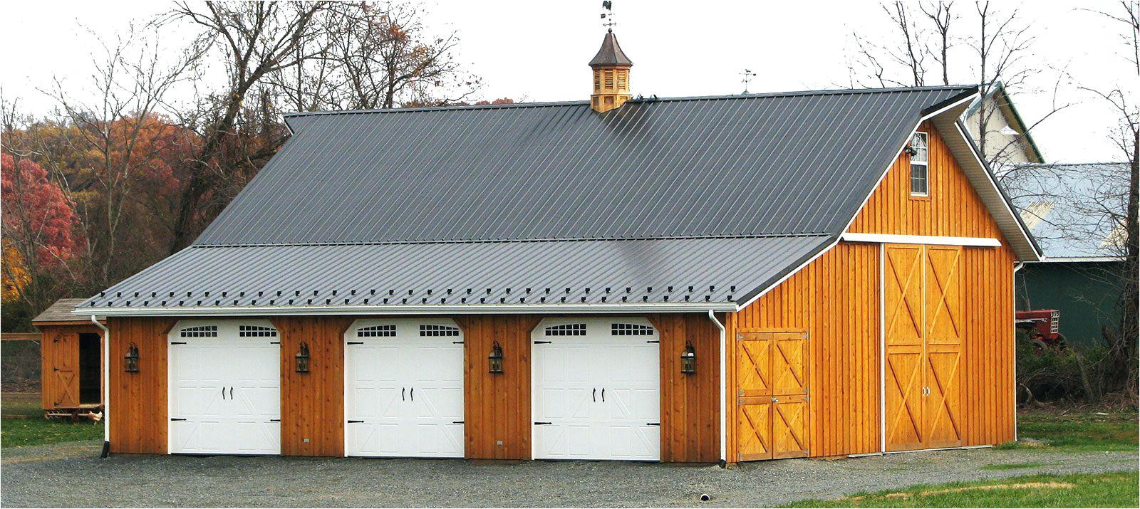 three stall garagepole barn with living quarters indiana pole garage door framing