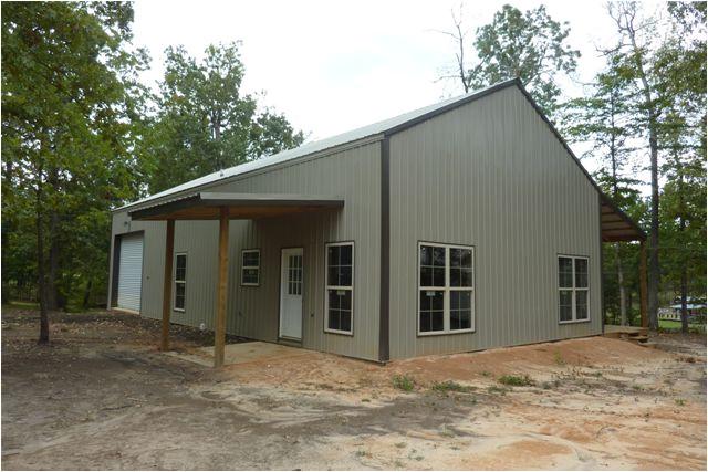 one man 80000 this awesome 30 x 56 metal pole barn home 25 pics