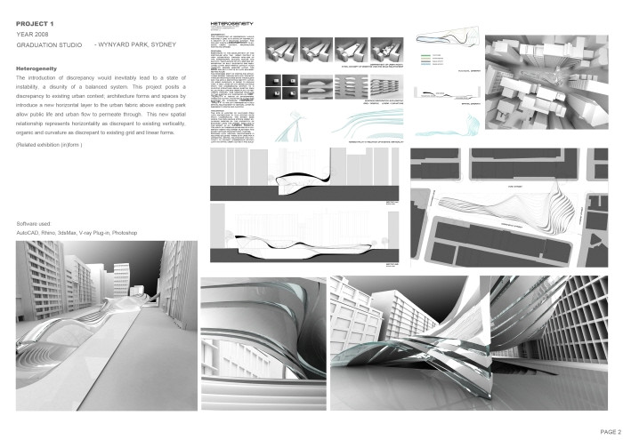 architecture portfolio designs