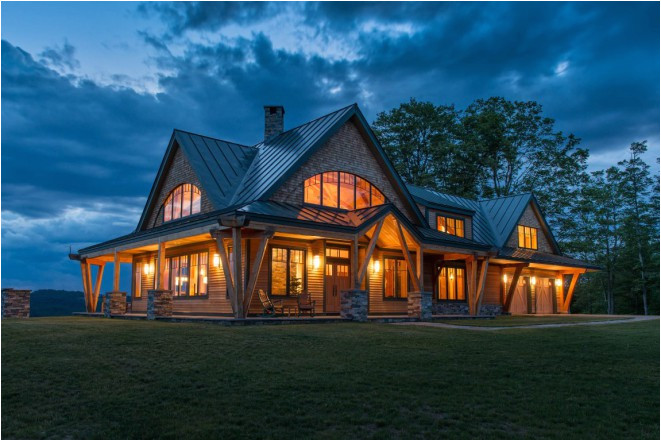 Post and Beam Timber Frame Homes Plans Night Pasture Farm Chelsea Vt Modern Timber Home