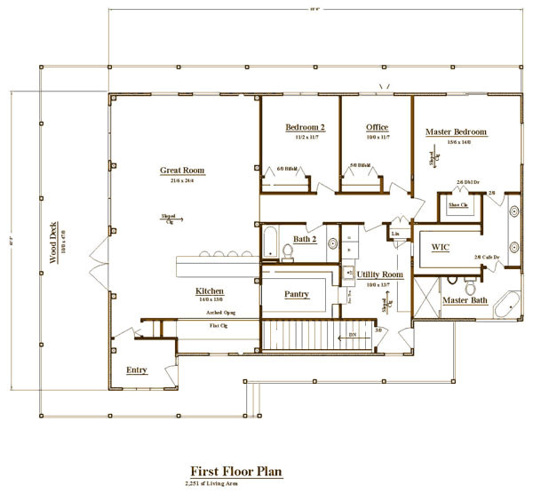 post and frame home plans