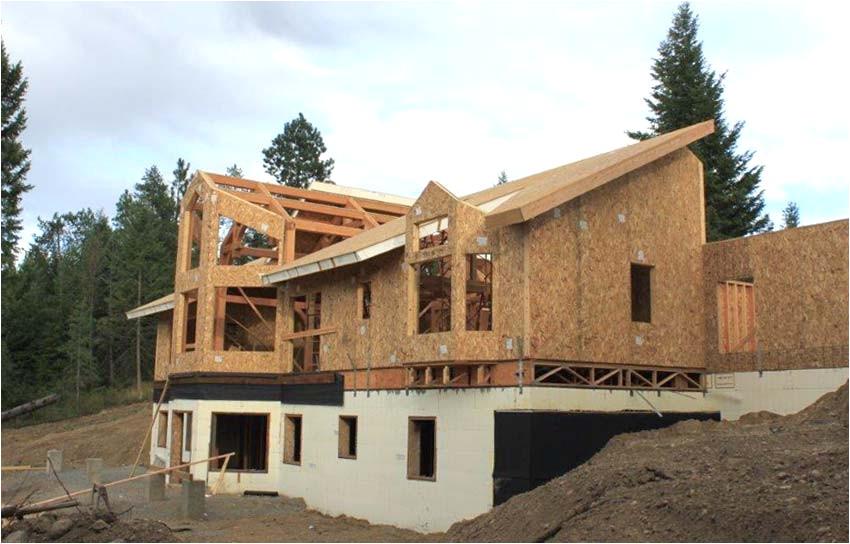 modern timber frame home plans