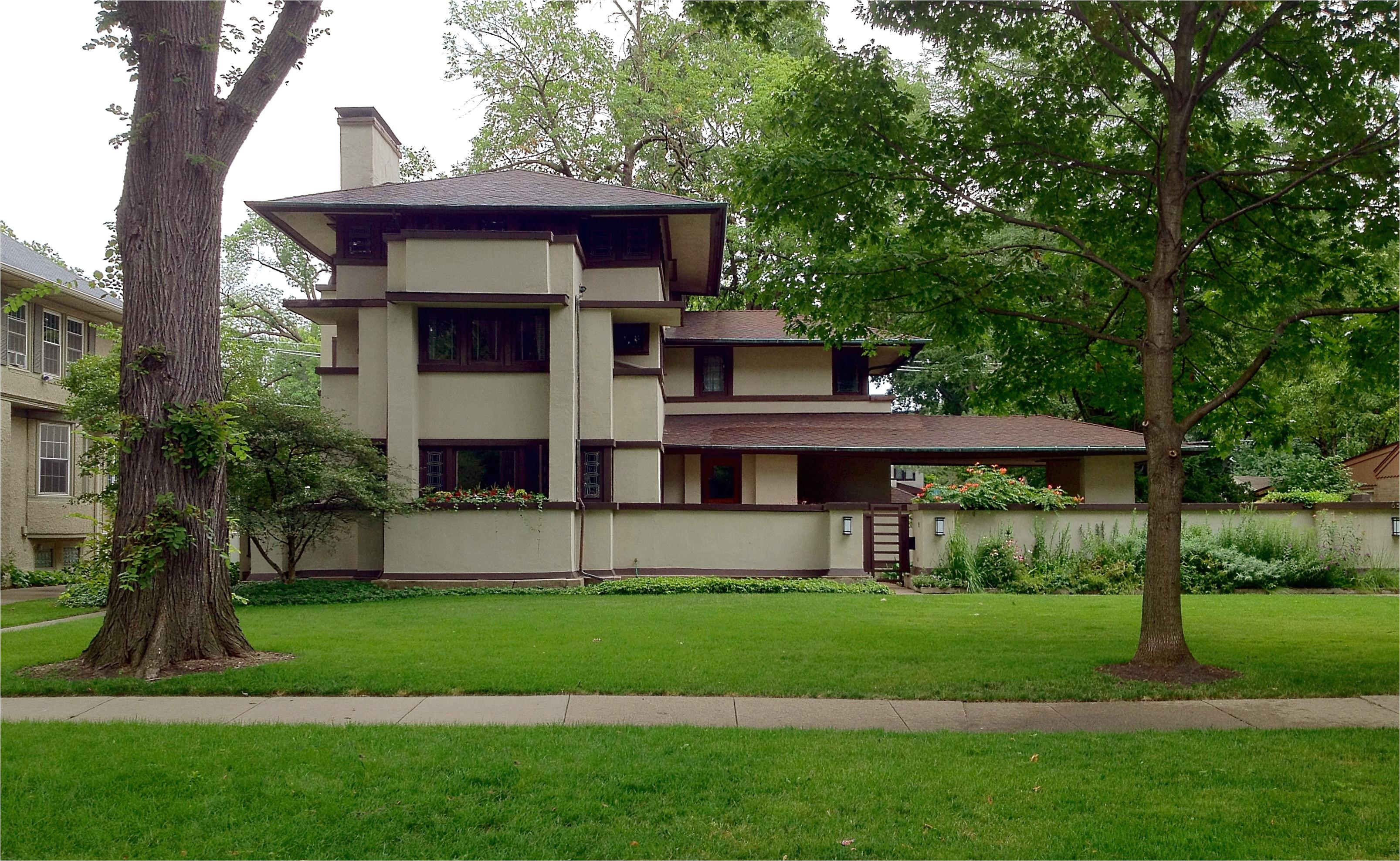 Prairie House Plans | Prairie Home Plans Frank Lloyd Wright Frank Lloyd Wright Style House