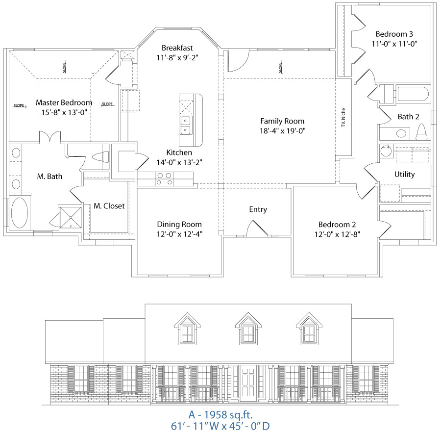 precision homes floor plans