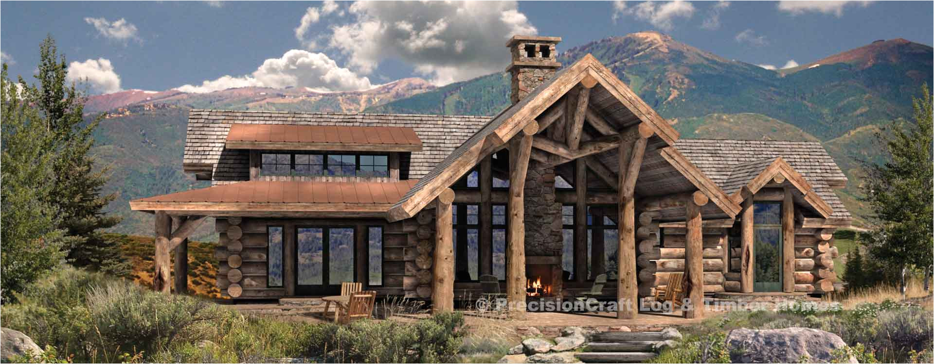 Precisioncraft Log Home Floor Plans Cumberland Handcrafted Log Plan