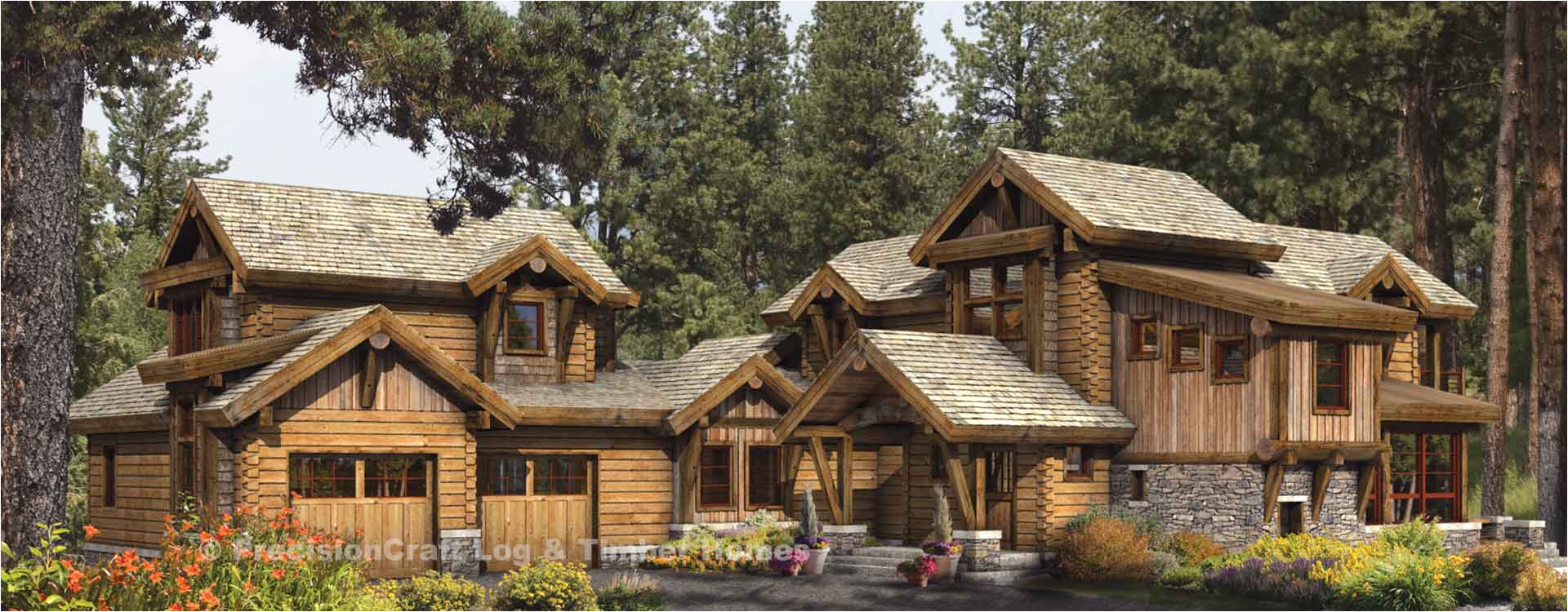 Precisioncraft Log Home Floor Plans Idlewild Log Home Design