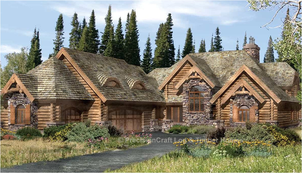 Precisioncraft Log Home Floor Plans Lafayette Log Home Plan by Precisioncraft Log Timber Homes