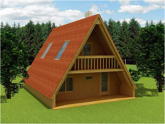 a frame house prefab