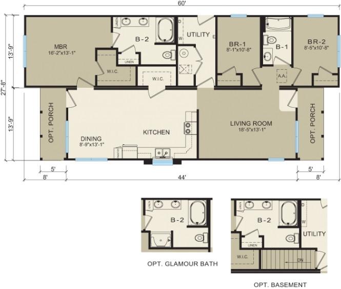best small modular homes floor plans