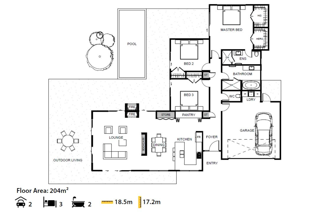 vega house plan