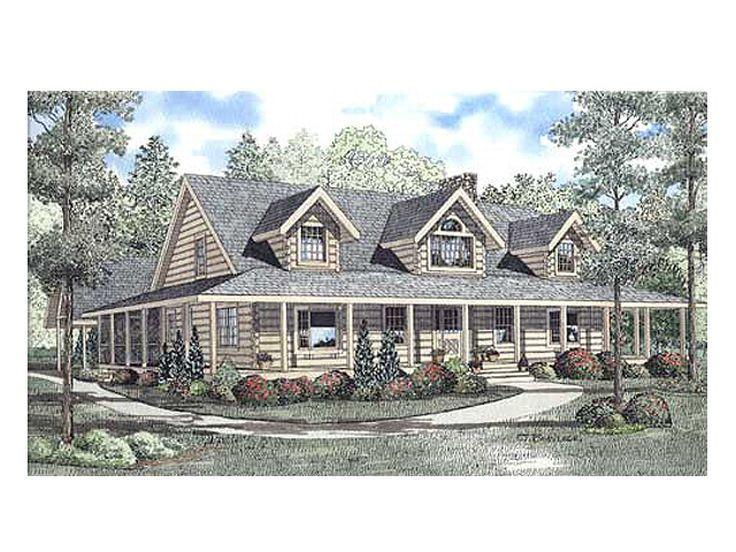 primitive log home plans