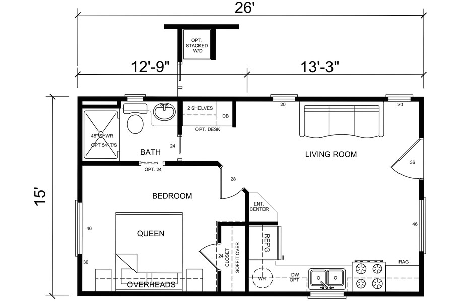 tiny house floor plans free
